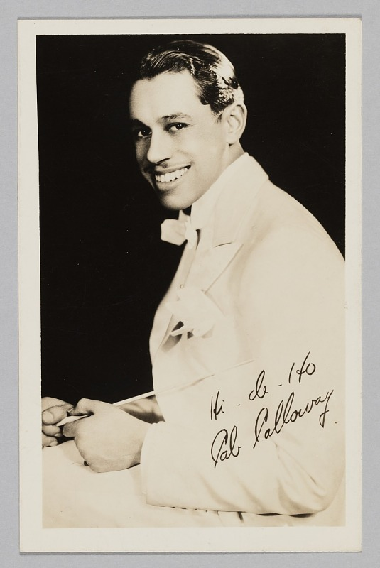 Image 1 for Photograph of Cab Calloway
