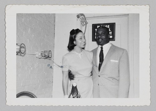 Image for Photograph of a man and Laura Cathrell