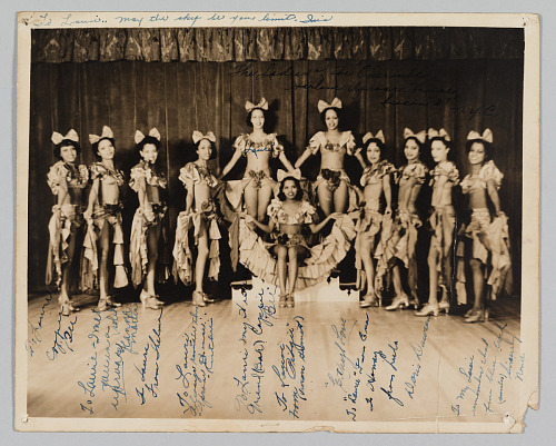 Image for Photograph of the Ensemble of Harlem Uproar House