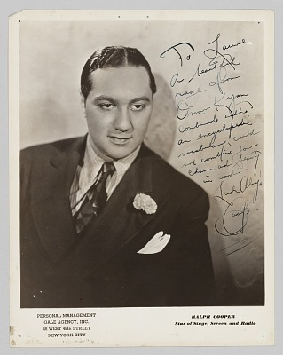Photograph of Ralph Cooper