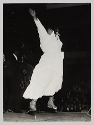 Photograph of a woman dancing