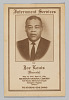 Thumbnail for Program for the interment services for Joe Louis