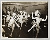 Thumbnail for Photograph of five performing showgirls