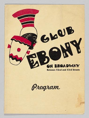 Image for Program for Club Ebony