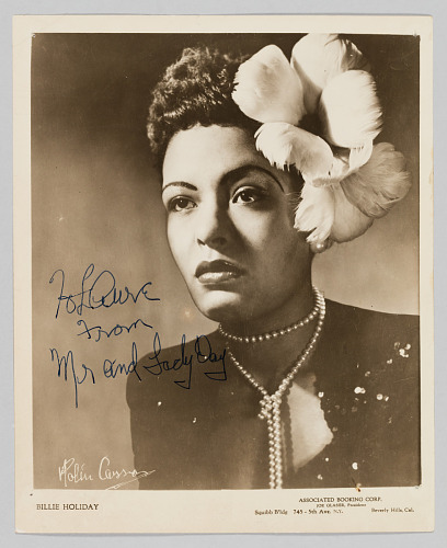 Image for Photograph of Billie Holiday