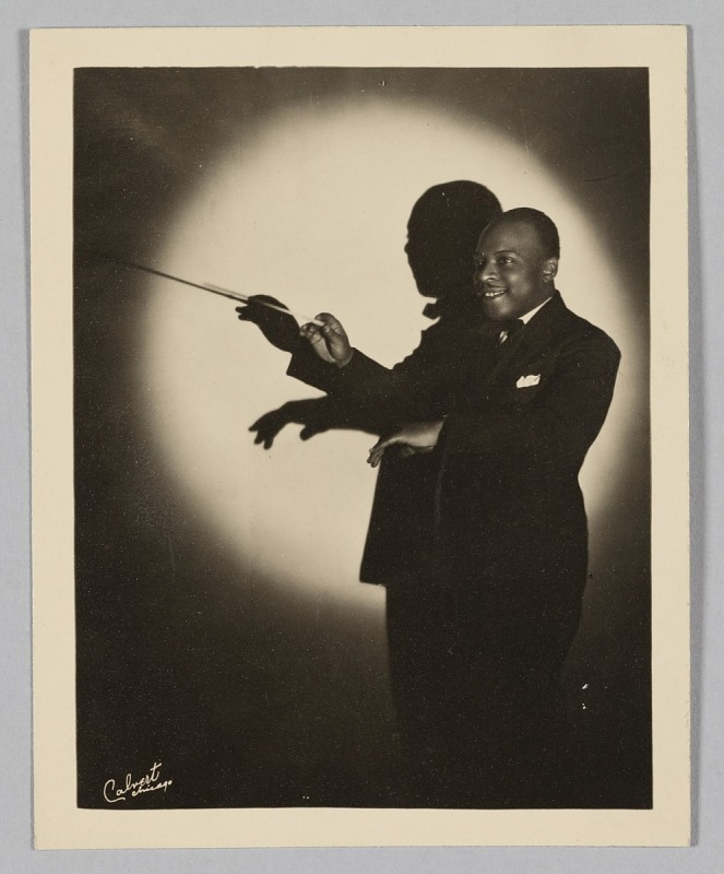 Image 1 for Photograph of Count Basie