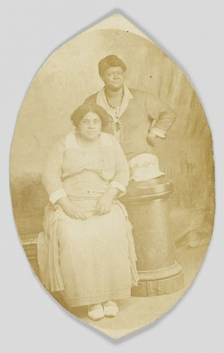 Image for Photographic postcard of two unidentified women