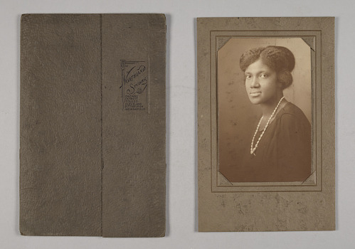 Image for Albumen print of an unidentified woman