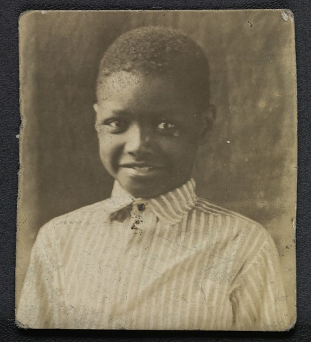 Image for Photographic print of a young boy