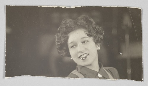 Image for Photographic print of unidentified woman
