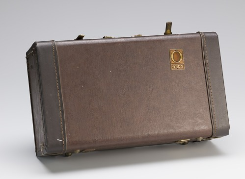Image for Cornet case owned by Maxine Sullivan
