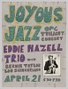 Thumbnail for Poster advertising jazz concerts for Richard Sudhalter and the Eddie Hazell Trio