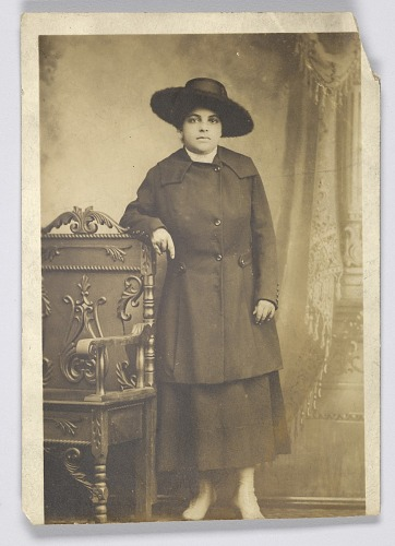 Image for Photographic postcard of a woman
