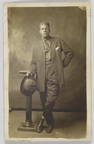 Image for Photographic postcard of Mr. Robinson