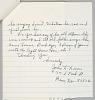 Thumbnail for Letter from John L. Lewis regarding Maxine Sullivan