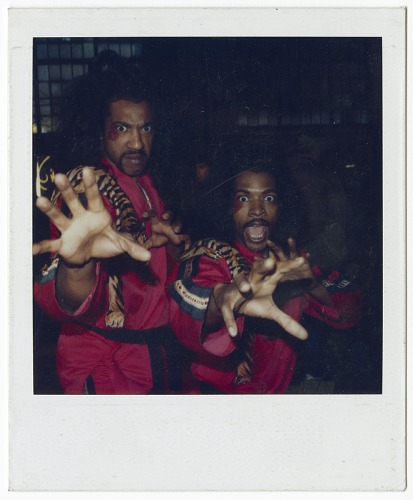 Image for Polaroid of Julius Carry and stunt double as Sho'Nuff