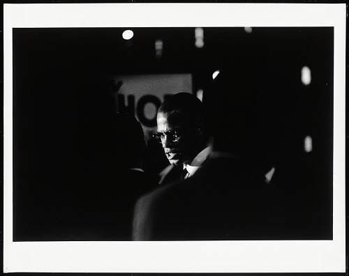 Image for Malcolm X, 369th Armory, Harlem