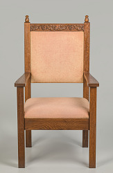 Pulpit chair from Saint Augustine Catholic Church of New Orleans