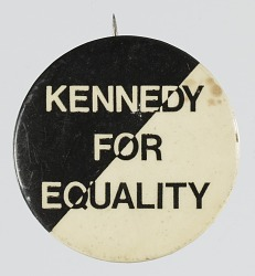 Pinback button for the Robert Kennedy campaign