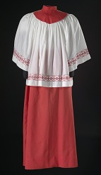 Acolyte robe from the First African Methodist Episcopal Church of Los Angeles