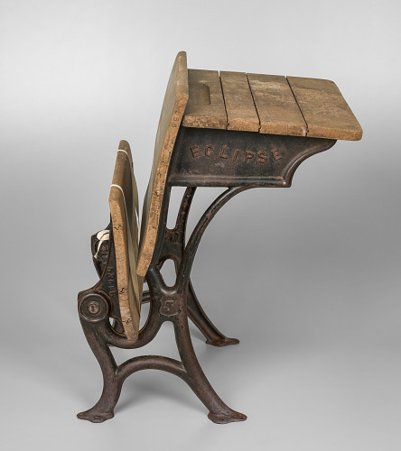 Image for Wooden school desk from Bethel Evangelical Lutheran Church and School