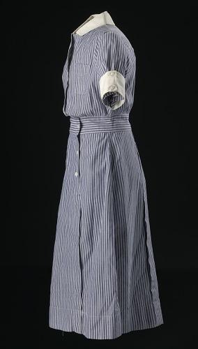Image for Nurse's uniform dress worn by Pauline Brown Payne