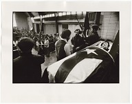 Image for Photograph of Julio Roldan's funeral at the People's Church
