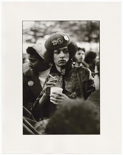 Image for Photograph of Denise Oliver, Young Lords Party