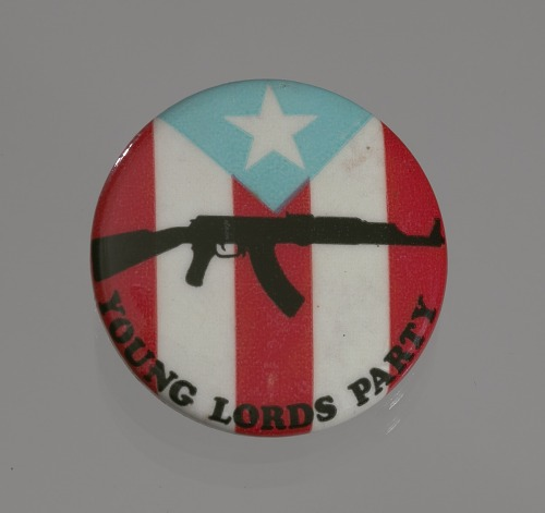 Image for Pinback button for the Young Lords Party