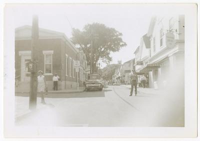 Digital image of a street on Martha's Vineyard