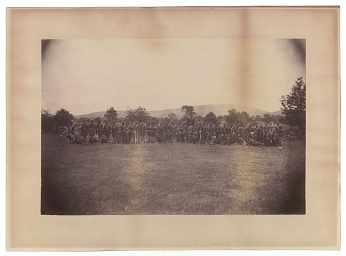 Image for Photograph of members of the 55th Massachusetts Infantry