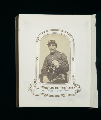 Image for Carte-de-visite album of the 54th Massachusetts Infantry Regiment