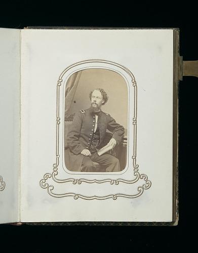 Image for Carte-de-visite album of the 54th Massachusetts Infantry Regiment
