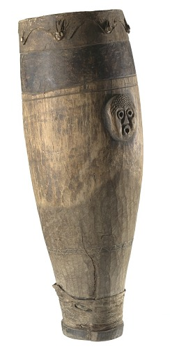 Image for Wooden drum used on the Sea Islands, South Carolina