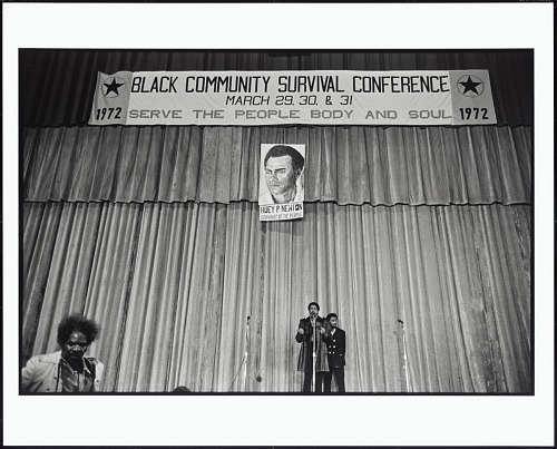 Image for Bobby Seale Speaks in the Oakland Auditorium During the Black Community Survival Conference, Oakland, California, March 30, 1972