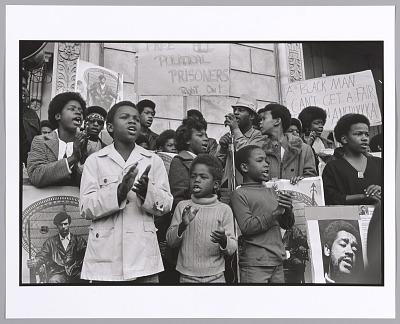 <I>Free Huey/Free Bobby Rally, San Francisco, California, 1970</I>