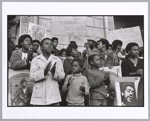Image for Free Huey/Free Bobby Rally, San Francisco, California, 1970