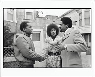 Image for Bobby Seale Campaigns for Mayor of Oakland and Elaine Brown Campaigns for City Council, Oakland, California, 1972