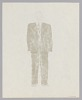 Thumbnail for Costume design drawing by Judy Dearing for Jake in Porgy and Bess
