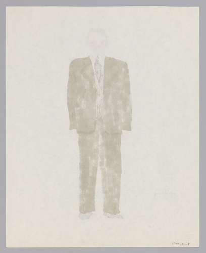 Image for Costume design drawing by Judy Dearing for Jake in Porgy and Bess