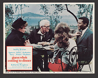 Lobby card for the film Guess Who's Coming to Dinner?