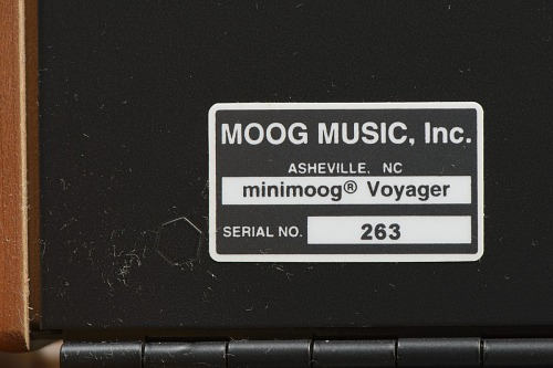 Image for Minimoog Voyager synthesizer used by J Dilla