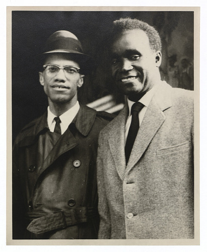 Image for Photograph of Malcolm X and Kenneth Kaunda