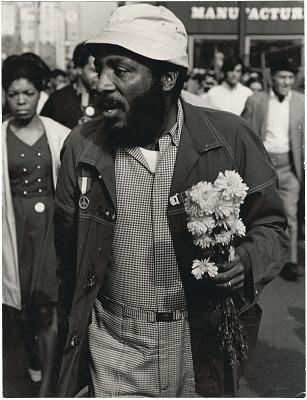 <I>Dick Gregory - 1968 Rally NYC</I>