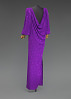 thumbnail for Image 4 - Purple dress designed by Oscar de la Renta and worn by Whitney Houston