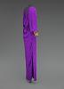 thumbnail for Image 6 - Purple dress designed by Oscar de la Renta and worn by Whitney Houston