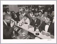 <I>Black Muslim Leader Malcolm X Photographing Cassius Clay</I>