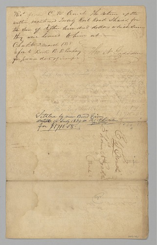 Image for Bond from Charles Crouch to Thomas Gadsden