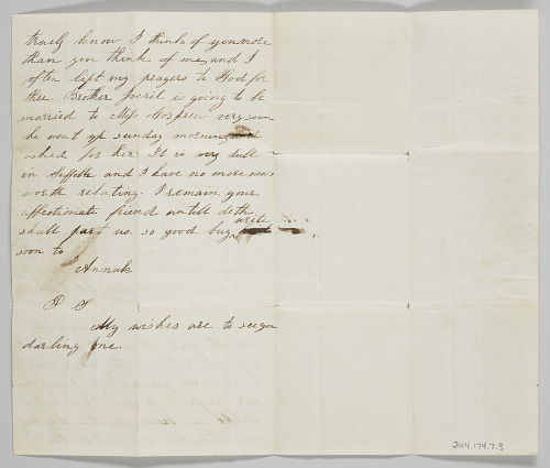 Image for Letter to John Copeland from his wife Ann