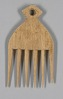 Thumbnail for Wood hair comb from Ghana